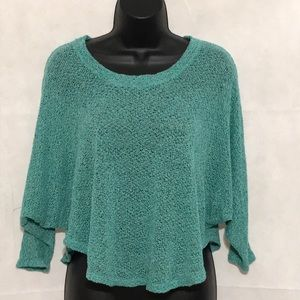 Staring at Stars Cropped Sweater Top Size S—D2